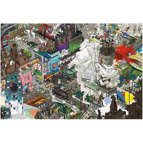 Paris 1500 pieces puzzle.
