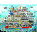 Puzzle de 1.500 piezas Cruise.