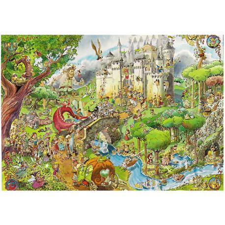 Puzzle de 1.500 piezas Fairy Tales.