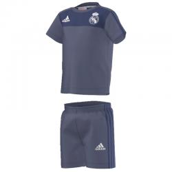 Conjunto para bebé adidas Real Madrid 2016-17.