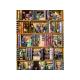 Puzzle de 1500 pièces Books.