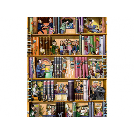 Books 1500 pieces puzzle.