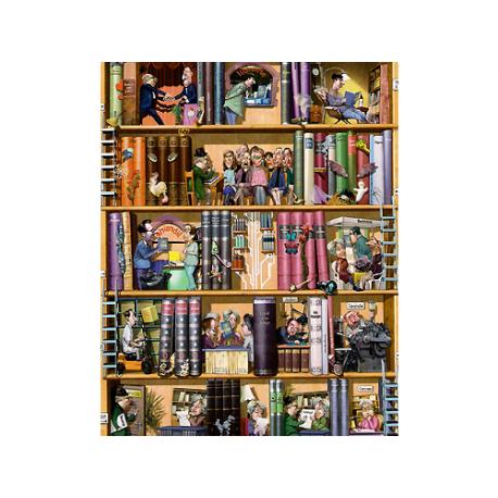 Puzzle de 1.500 piezas Books.