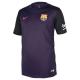 Camiseta supporters niño 2ª equipación F.C.Barcelona 2016-17.