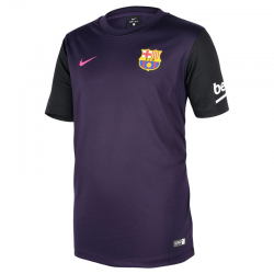 F.C.Barcelona Kids Supporters Away Shirt 2016-17.