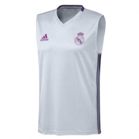 68ebc136e4ea9 Real Madrid Adult Sleeveless Training shirt 2016-17. - Forofos