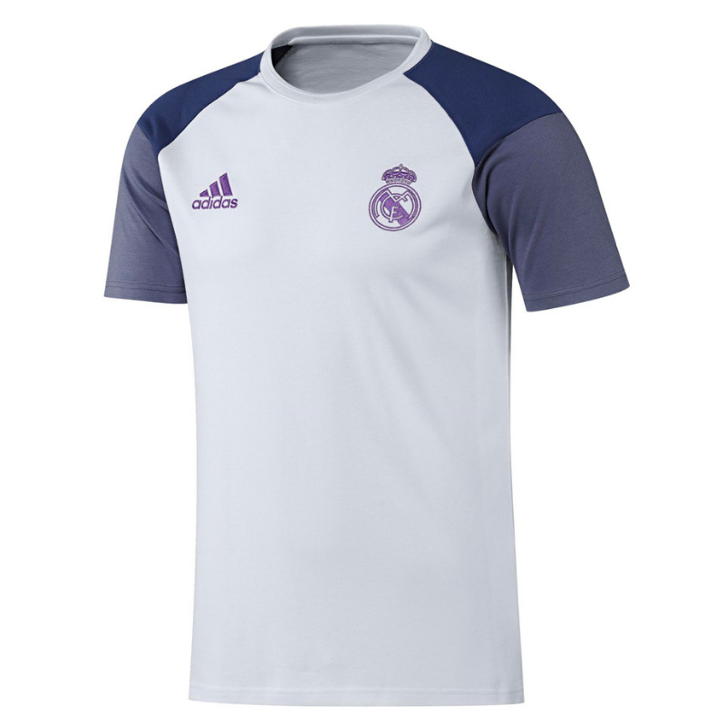 t shirt real madrid entra nement 2016 17 forofos. Black Bedroom Furniture Sets. Home Design Ideas