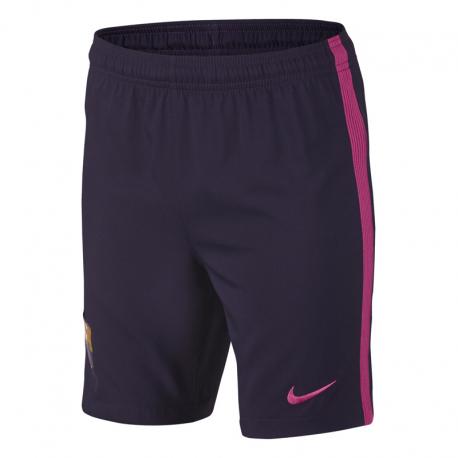 Pantalón corto niño 2ª equipación F.C.Barcelona 2016-17.
