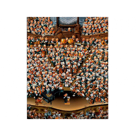Puzzle de 2.000 piezas Orchestra.