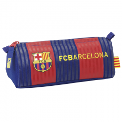 F.C.Barcelona Barrel Pencil Case.