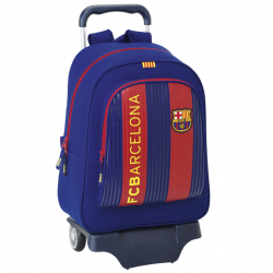 Mochila grande con ruedas del F.C.Barcelona.