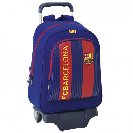 F.C.Barcelona Large Backpack with wheels.