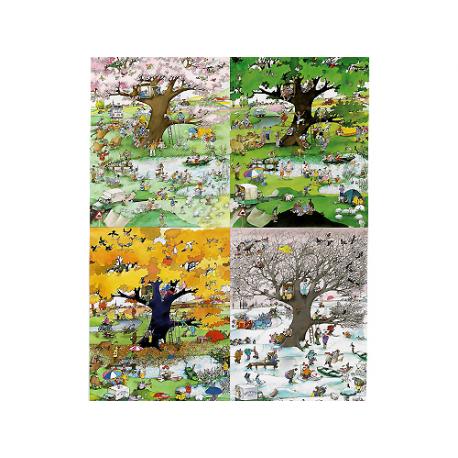 4 Seasons 2000 pieces puzzle.