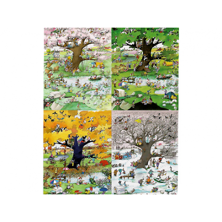 Puzzle de 2000 pièces 4 Seasons.