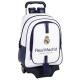 Mochila grande con ruedas del Real Madrid.