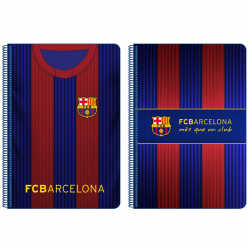 Cahier grand format F.C.Barcelona.