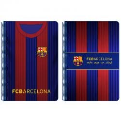 F.C.Barcelona Dina A4 spiral notebook.