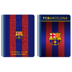 F.C.Barcelona 4th Spiral notebook.
