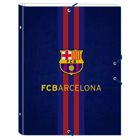 Carpeta con clasificador del F.C.Barcelona.