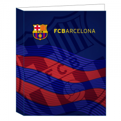 F.C.Barcelona Folder four rings.