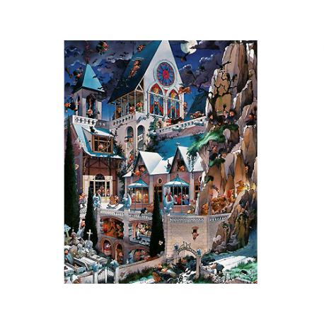Puzzle de 2000 pièces The Castle of Horror.