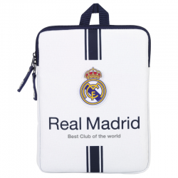 "Funda ordenador portatil 10.6"" del Real Madrid."