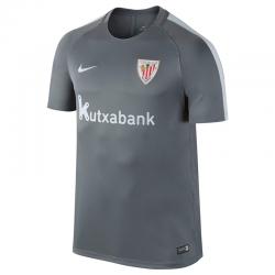 Camiseta de entrenamiento adulto Athletic de Bilbao 2016-17.