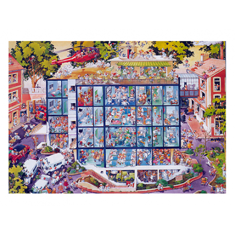 Puzzle de 2.000 piezas Emergency Room.