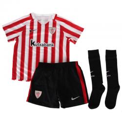 Minikit niños pequeños 1ª equipación Athletic de Bilbao 2016-17.