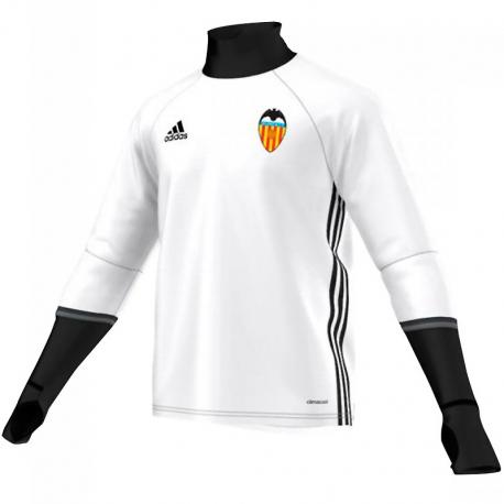 Sudadera de entrenamiento adulto Valencia C.F. 2016-17.