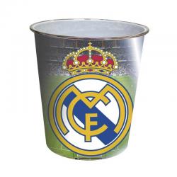 Papelera de plástico del Real Madrid.