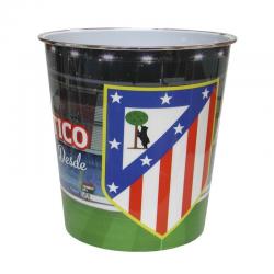 Papelera del Atlético de Madrid.