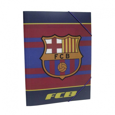 F.C.Barcelona Folder Polypropylene.