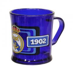 Taza de plástico del Real Madrid.