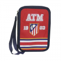 Plumier doble pequeño del Atlético de Madrid.