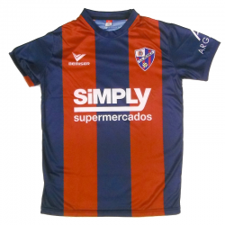 S.D. Huesca Adult Home Shirt 2015-16.