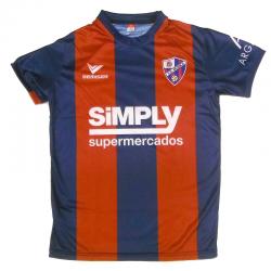 Camiseta oficial niño 1ª equipación S.D. Huesca 2015-16.