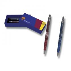 2 Bolígrafos con estuche del F.C.Barcelona.