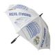 Paraguas juvenil y adulto del Real Madrid.