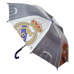 Paraguas plegable infantil del Real Madrid.