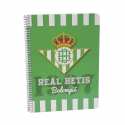 Real Betis Dina A4 spiral notebook.