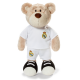 Real Madrid Bear 25 cm. Plush doll.
