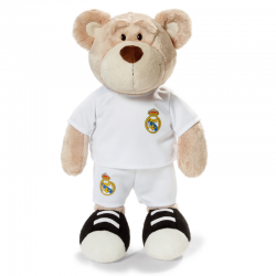 Real Madrid Bear 35 cm. Plush doll.