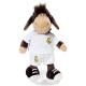 Real Madrid Sheep 25 cm. Plush doll.