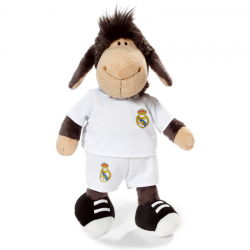 Real Madrid Sheep 35 cm. Plush doll.