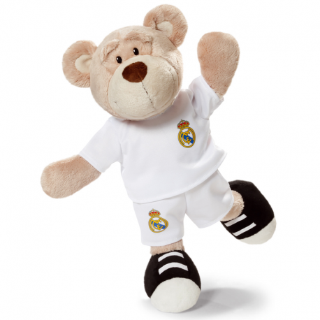 Peluche 50 cm. oso del Real Madrid.