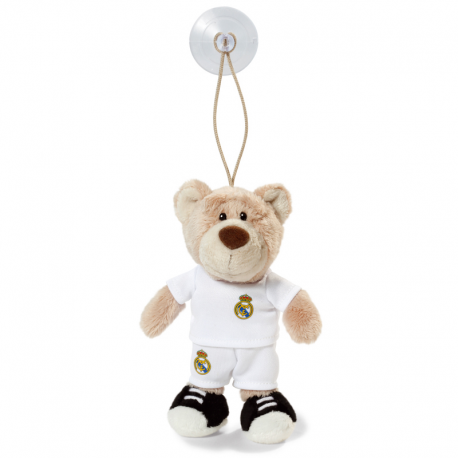 Peluche Ours avec ventouse Real Madrid.
