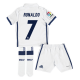 Kit niño 1ª equipación Ronaldo Real Madrid 2016-17.