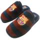 Zapatillas de estar por casa del F.C. Barcelona.