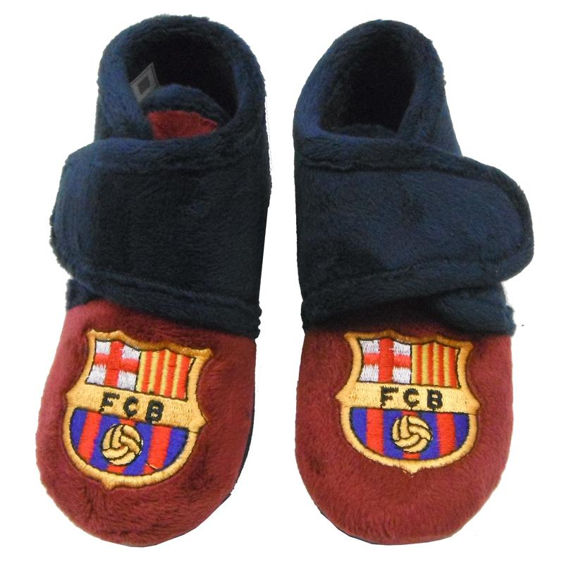 Zapatillas de estar por casa para ni o del f c barcelona - Zapatillas para casa ...